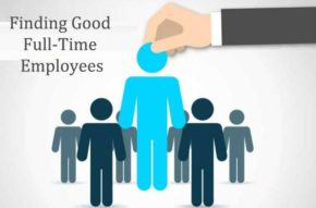 Finding Good Full-Time Employees