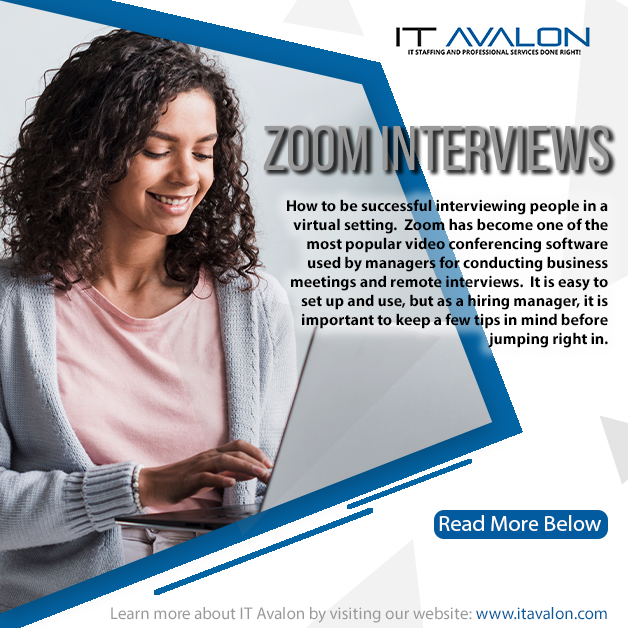 How to be successful Interviewing people over Zoom