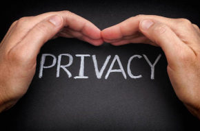 Privacy. Security of personal data